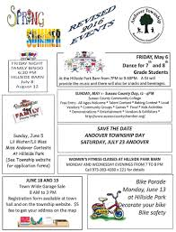 The Bingo Barn Andover Township Public Notices And Service Announcements