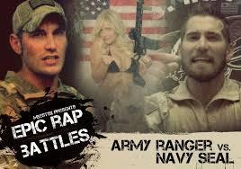 Ranger School Meme - epic rap battle navy seal vs army ranger youtube