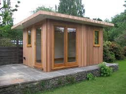 Slanted Roof House Inspiring Modern Garden Shed Contemporary Shed Is The Wonderful