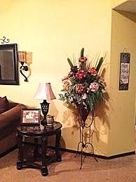 artificial flower arrangement iron decor flower arrangements