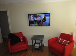 Table For Under Wall Mounted Tv by Fairfield Ct Mount Tv On Wall Home Theater Installation