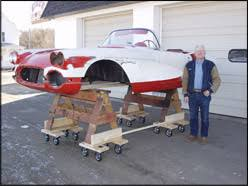 corvette restoration shops certified gold 1961 chevy corvette restoration minnesota s