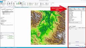 Seattle Elevation Map by Mapinfo Pro Advanced Raster Calculations Youtube