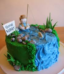 father u0027s day cake ideas 2012 fishing cakes cake and fish