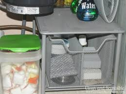 Organizing Under Kitchen Sink by How To Organize Under The Kitchen Sink Clean And Scentsible