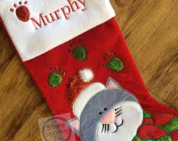 cat christmas cat christmas etsy