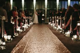 aisle runner wedding sequin aisle runner custom lengths widths available