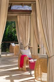 Outdoor Sheer Curtains For Patio Chicago Outdoor Curtains For Patio Contemporary With Sheer Woven