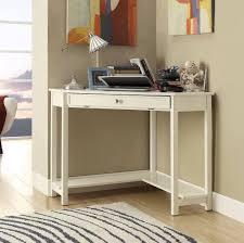 Small White Corner Computer Desk Furniture Small White Corner Desk With Single Drawer And Unique