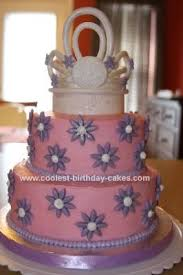 coolest princess tiara birthday cake