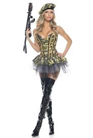 Army Costume Halloween Army Commando Officer 3 Pc Halloween