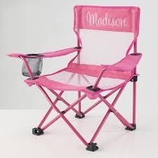 kidkraft personalized pink camping chair hayneedle