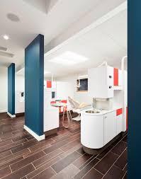 children u0027s dentist office mod style bright colors white