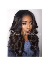 stock wavy full lace human hair wig with highlight wst028 home