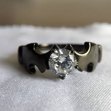 Batman Wedding Rings by Batman Tungsten Wedding Band Ring Fineryus