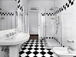 Black White Bathroom Decorating Black White Bathroom Decor - Bathroom designs black and white