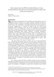 bureau de l ex ution des peines neoliberalism the wto and modes of pdf available