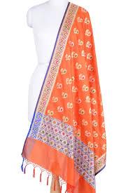 Beautiful Purple Motifs Banarasi Weaves