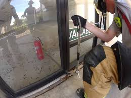 commercial aluminum glass doors storefront door removal from pin hinge youtube