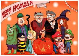 Gravity Falls Halloween Costumes Happy Halloween Gravity Falls Ink Provised Deviantart