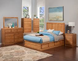 Bedroom With Oak Furniture Solid Wood Home Office Furniture In Usa