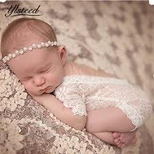 Extreme Fotografia Newborn Fotografia Props Bebê Menina Rendas Romper  &AN38