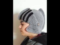 crochet pattern knight helmet free diy knight s helmet hat free crochet pattern king arthur s court