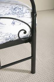 limelight musca 4ft6 double black metal bed frame by limelight beds
