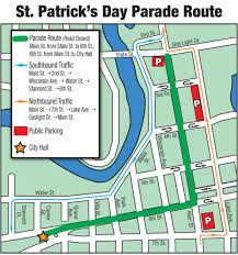 map st s day parade route local news journaltimes