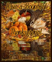 thanksgiving comments and glitter graphics
