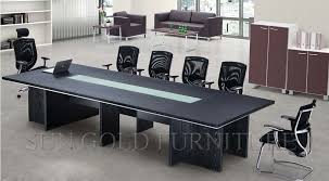 Rectangular Wooden Melamine Boardroom Table Conference Table Of