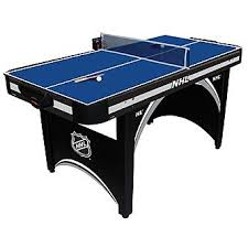air powered hockey table nhl 66in air powered hockey table with bonus table tennis