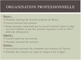 chambre nationale des notaires le notariat dans les pays méditerranéens hors ue pdf