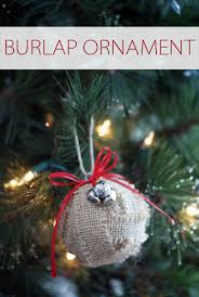 101 days of burlap ornament your way