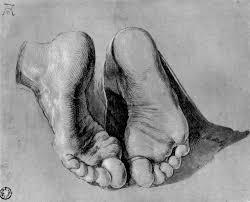 feet of an apostle albrecht durer wikiart org
