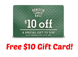 bonefish gift card free 10 bonefish grill gift card i don t time for that