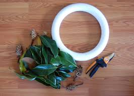 Halloween Wreath Supplies by How To Make A Fresh Magnolia Wreath Diy Diy Network Blog Made