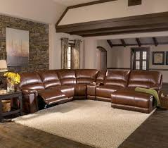 CS Hazelnut Leather  Piece Sectional By HTL Great American - Home decor in southaven ms