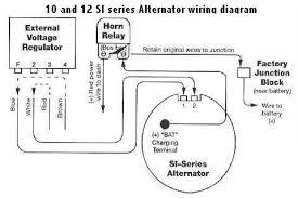 external regulator alternator wiring diagram