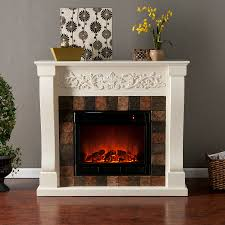 fresh corner electric fireplace and media center 6144