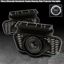 2003 chevy silverado fog lights chevy silverado 2003 2006 smoked halo projector fog lights