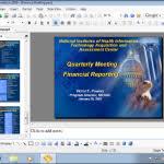 microsoft office powerpoint presentation create a word document