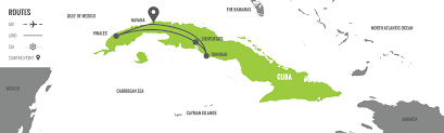 Cuban Map Cuba New Year U0027s Eve Tour Travel And Custom Vacations Out