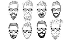 Type Of Hairstyles For Guys by How To Choose Beard Style For Different Face Type Hindi Best