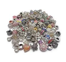 silver charm bead bracelet images Truly charming job lot wholesale 100 x charms beads pandora style jpg