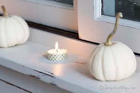 Mini Decorative Pumpkins 5 Easy Ways To Add Fall Decor To Your Home Songbird