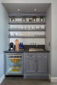 Wet Bar Countertop Ideas Small Wet Bar Decorating Ideas Home Bar Transitional With Shaker