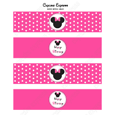 minnie mouse pink printable collection minnie mouse