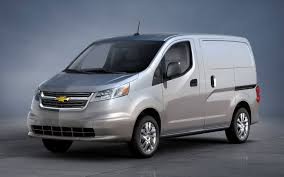 nissan van finance deals chevrolet to sell small cargo van based on nissan nv200
