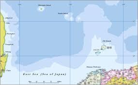 Sea Of Japan Map Dokdo Takeshima Island Liancourt Rocks The Historical Facts Of The